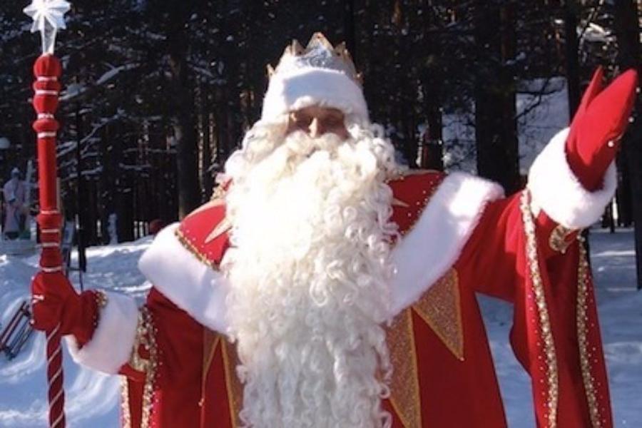 В российской столице скрыльца салона красоты похитили Деда Мороза