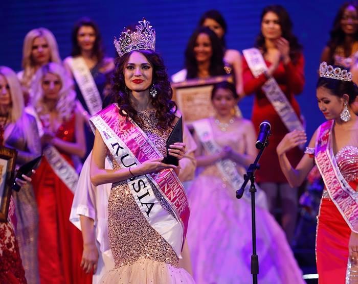 Россиянка завоевала титул самой красивой девушки поверсии Face ofBeauty