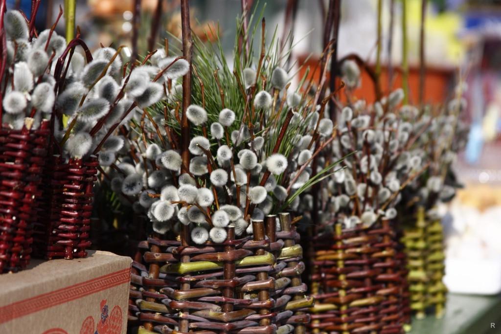 Вербное воскресенье. Вцеркви Ноябрьска пройдет служба иосвещение вербных веточек