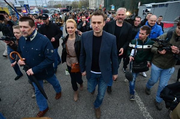 Собственник поменял замки вмосковском штабе Навального