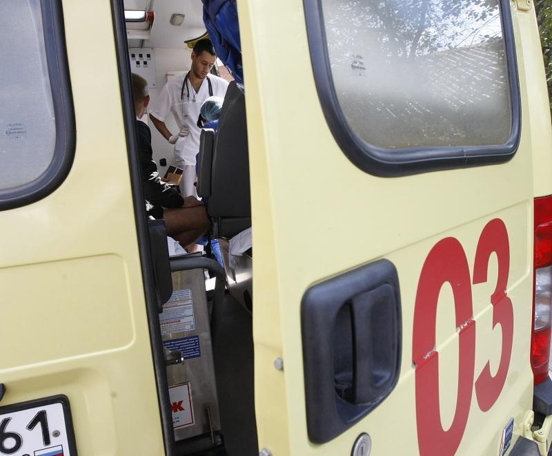 2-х женщин сбил джип напешеходном переходе вцентре столицы
