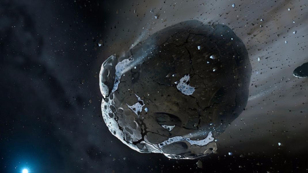 Граждане столицы увидят яркий астероид невооруженным глазом