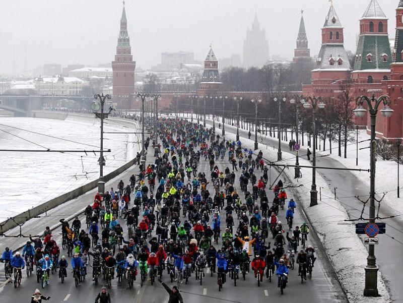 Велопарад встолице может пройти при 25-градусном морозе