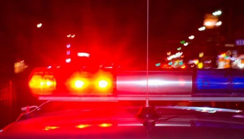 В столице две иномарки врезались вмашину смигалкой