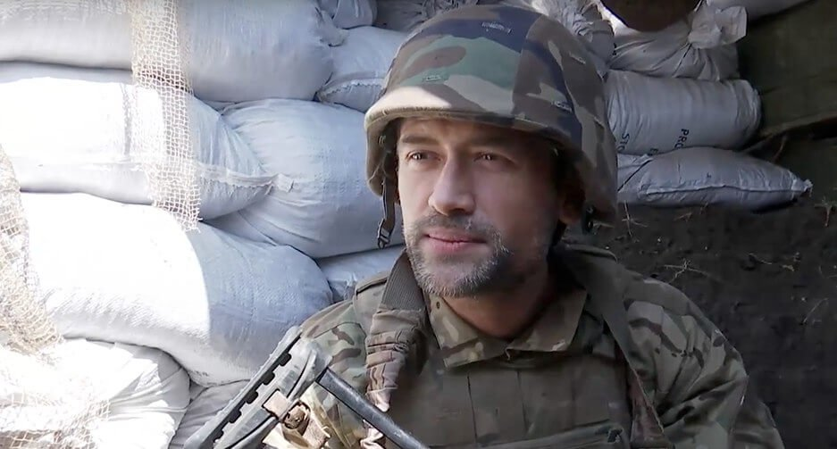 Русский актёр Пашинин прокомментировал своё вступление вотряд украинской добровольческой армии