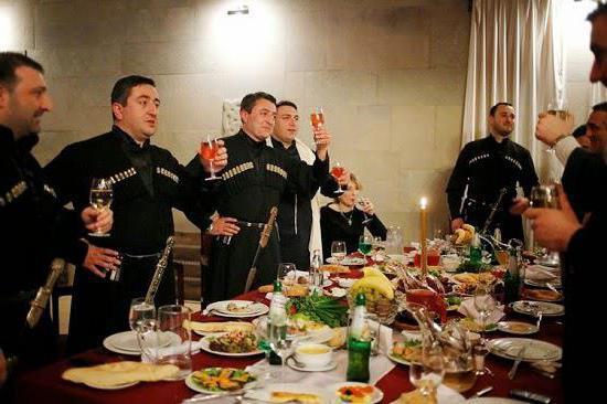 Грузинский тост для мужчины