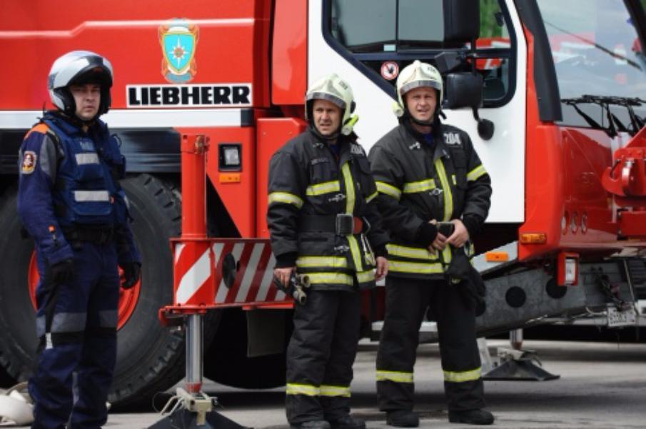 Впожаре вжилом доме встолице умер человек