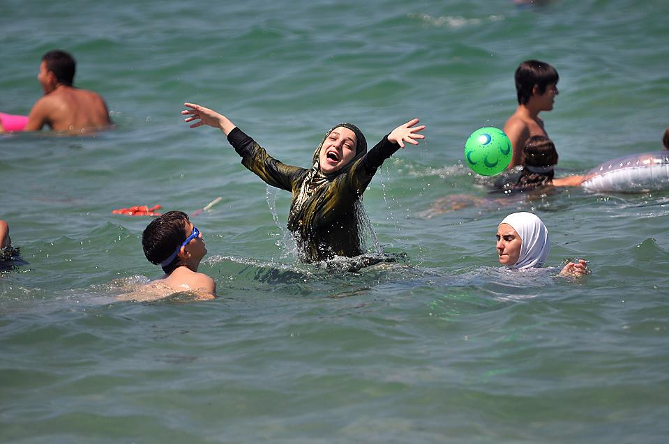 В столицеРФ подумывают оботкрытии «пляжа для мусульман»