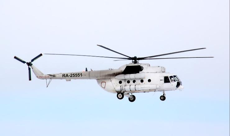 ВКрасноярском крае невышел насвязь вертолет Ми-8, сообщил источник