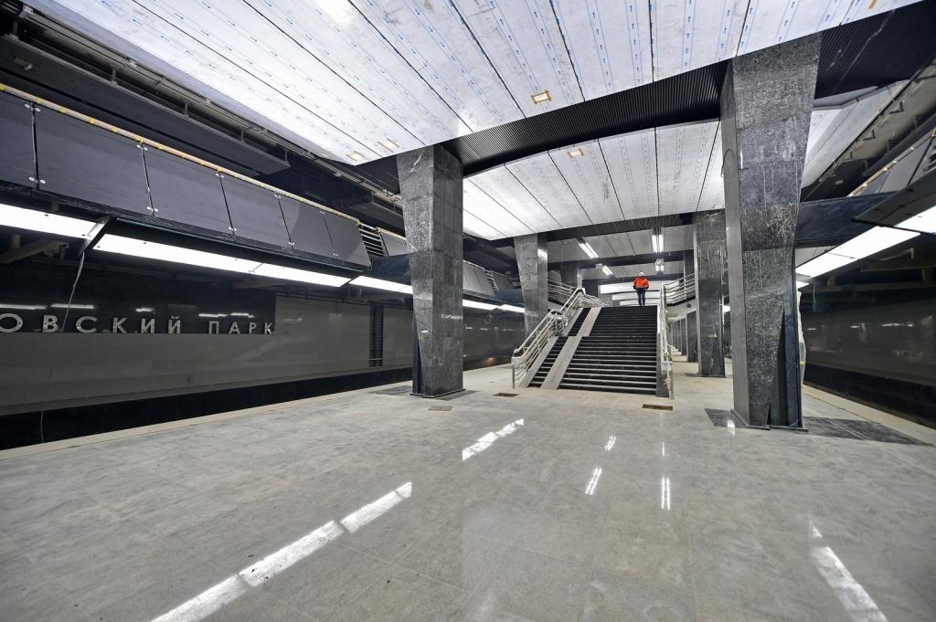 Доконца года откроют станцию метро «Петровский парк» вСАО