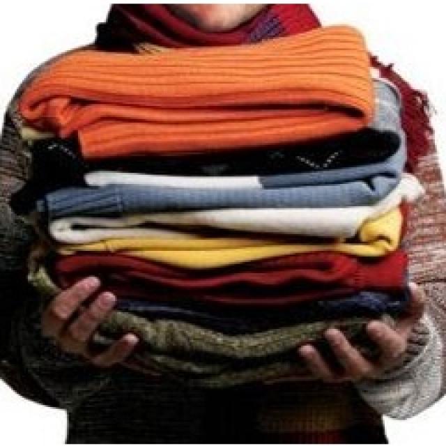 Приём одежды в помощь
