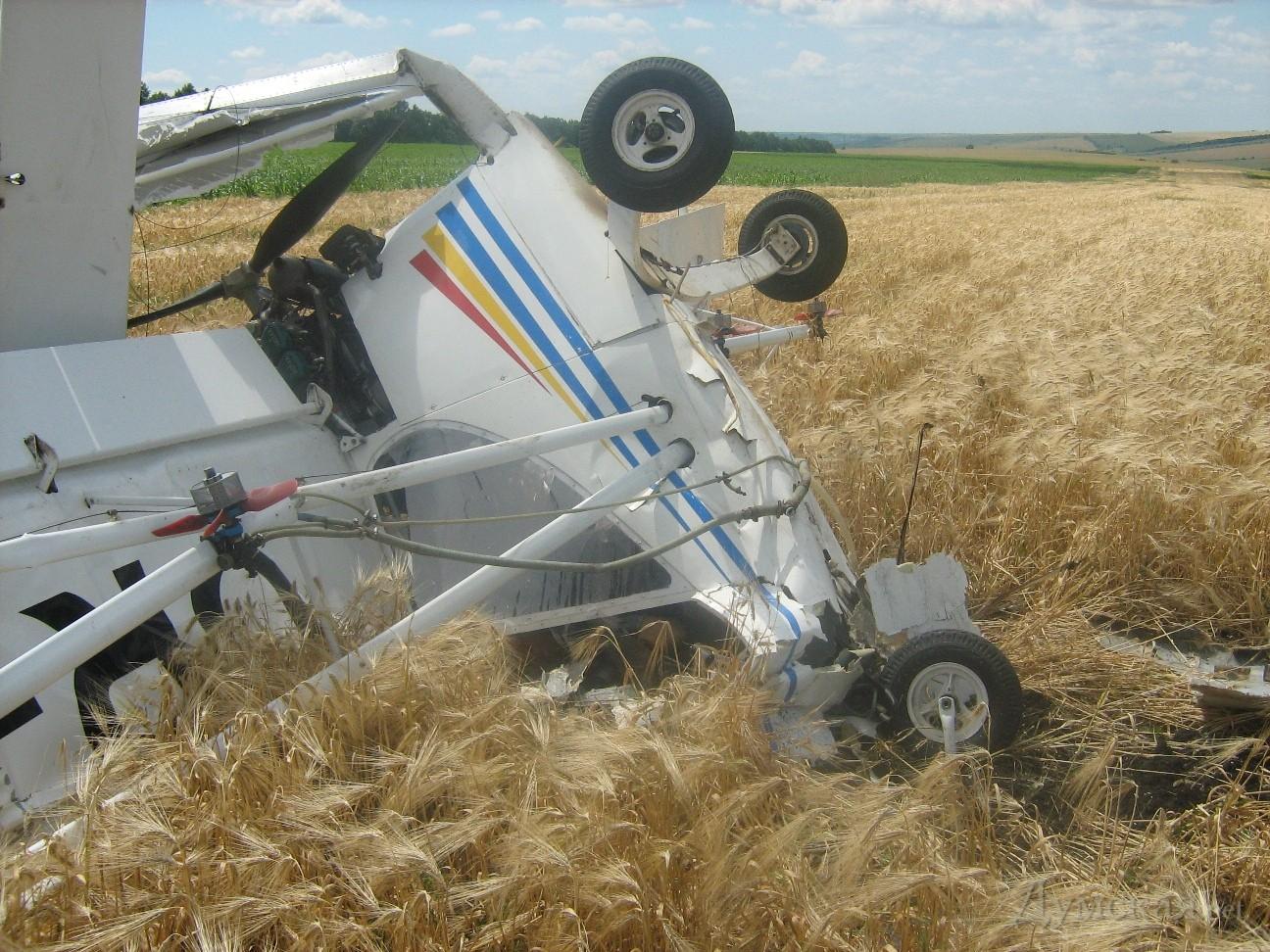 СМИ проинформировали опадении легкого самолета вПодмосковье