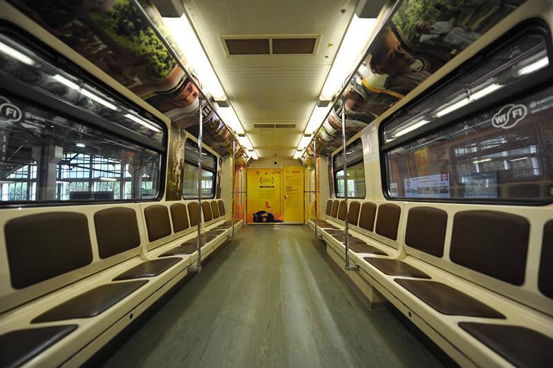 С7ноября наСокольнической линии метро будет ходить тематический поезд