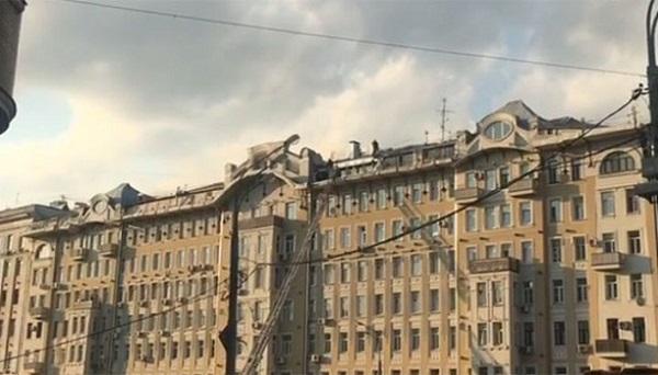 Вцентре столицы зажегся дом: спасены 4 человека