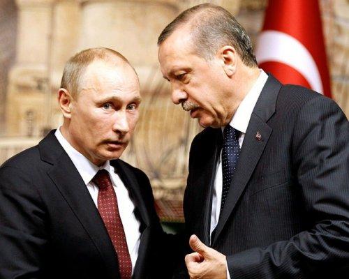 Объявление В. Путина иЭрдогана по результатам встречи вПетербурге