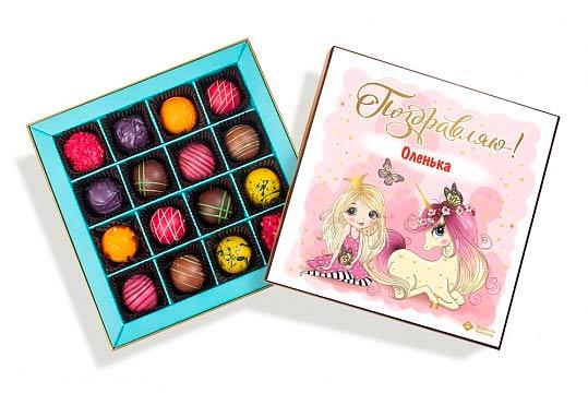 шоколадные подарки для детей