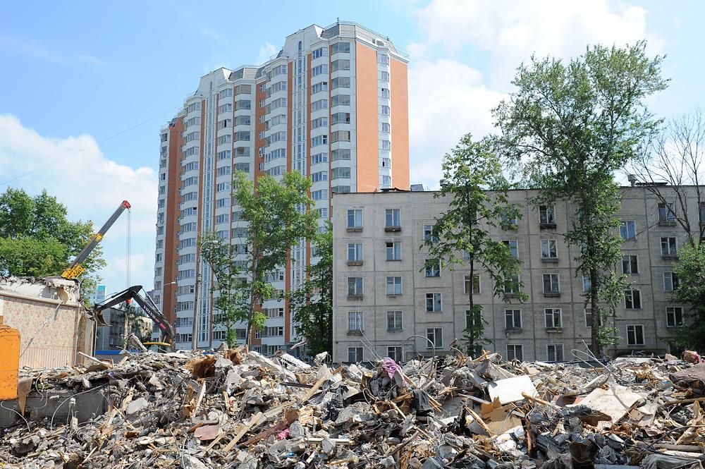 Адреса пятиэтажек для сноса в москве на 2017