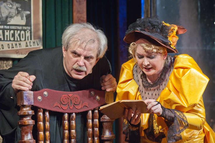 Артист Борис Лифанов скончался прямо насцене Тверского академического театра