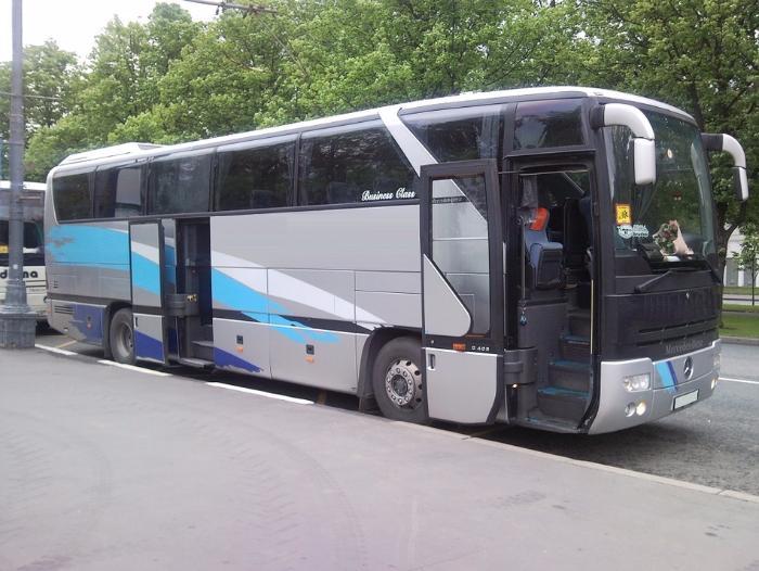 ВВоронежской области автобус изГермании попал вДТП