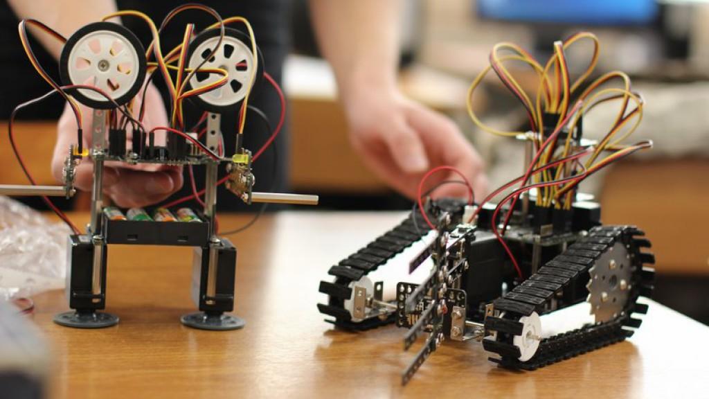 Наюге столицы втренде робототехника, геоинформатика икосмонавтики