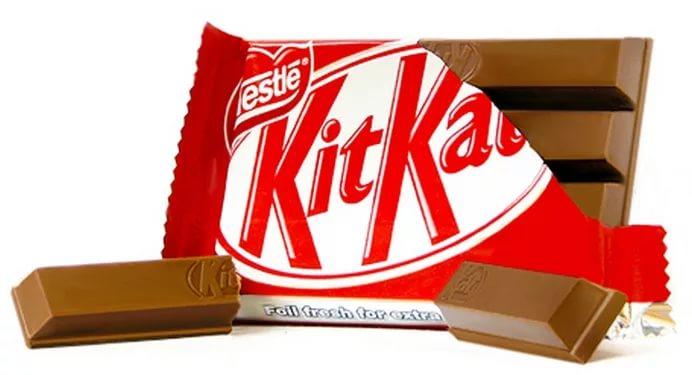 Nestlé проиграла суд оформе шоколадки KitKat