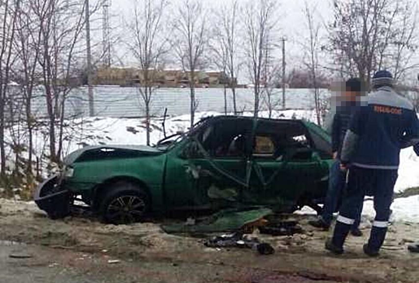 ВЛабинске 5-летняя девочка выжила в трагедии, вылетев изокна машины