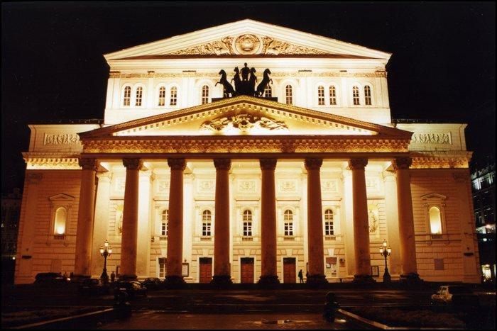 Большой театр реализует неудобные места за100 руб.
