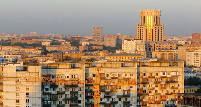 Около 84,5 тыс. квартир приобрели в столице России затри квартала