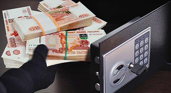 Охранник магазина попался накраже 700 тыс. руб.
