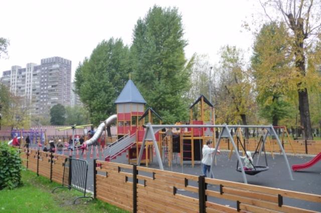 Таганский детский парк откроется после реконструкции вначале лета