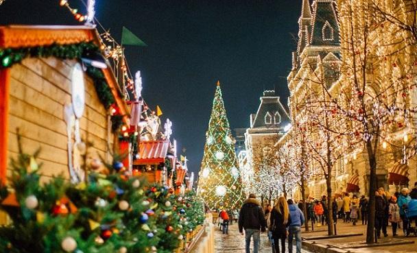 Москва заработала 13,7 млрд руб. нарождественском фестивале