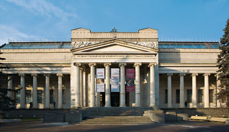 Государственный музей изобразительных искусств им.Пушкина сделал бесплатным вход вглавное строение