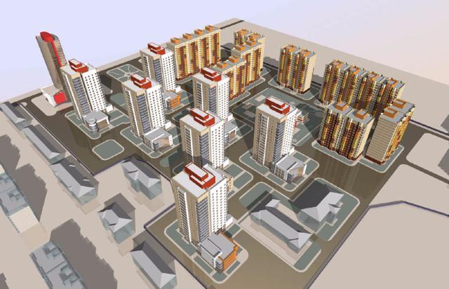 Навостоке столицы построят 4 небоскреба на 600 000 «квадратов» жилья