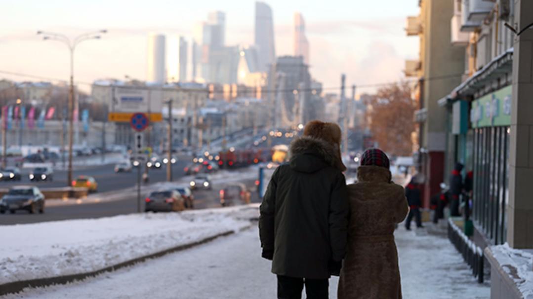 Синоптики: встоличном регионе резко похолодает вночь на26января