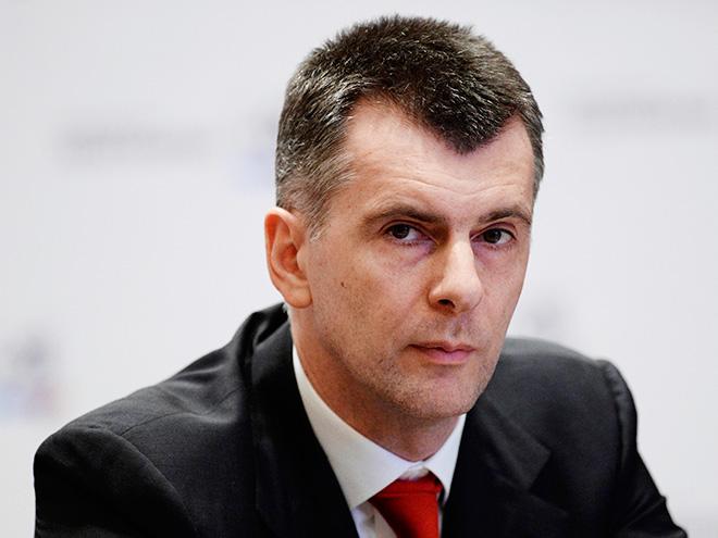 Прохоров расстанется сбизнесом в Российской Федерации