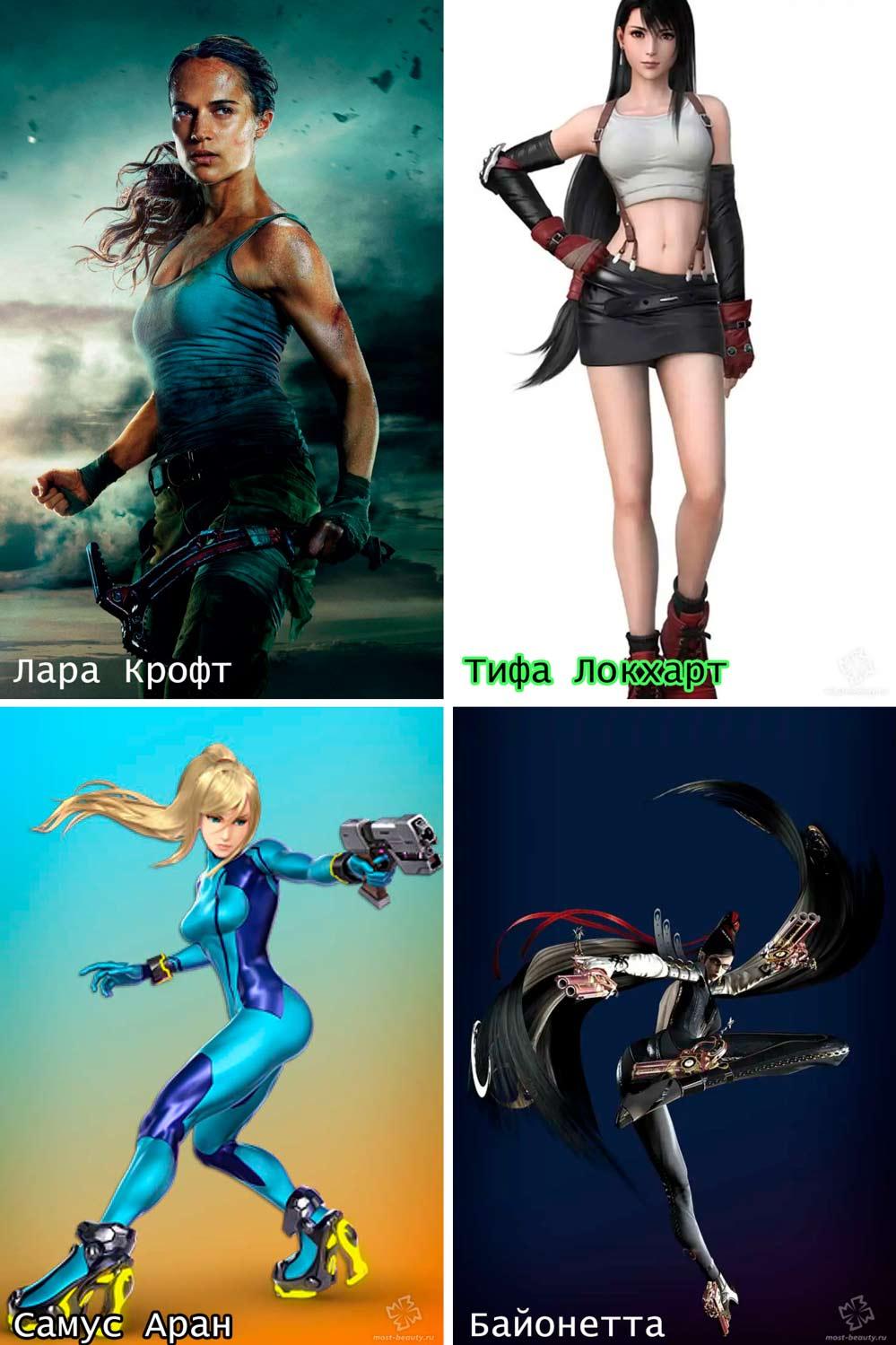 Женские персонажи видеоигр