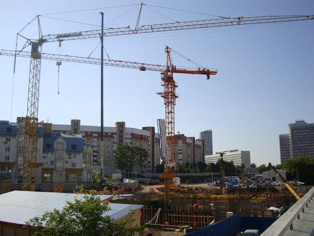 В новейшей столицеРФ строят отель, МФК иТЦ Декатлон