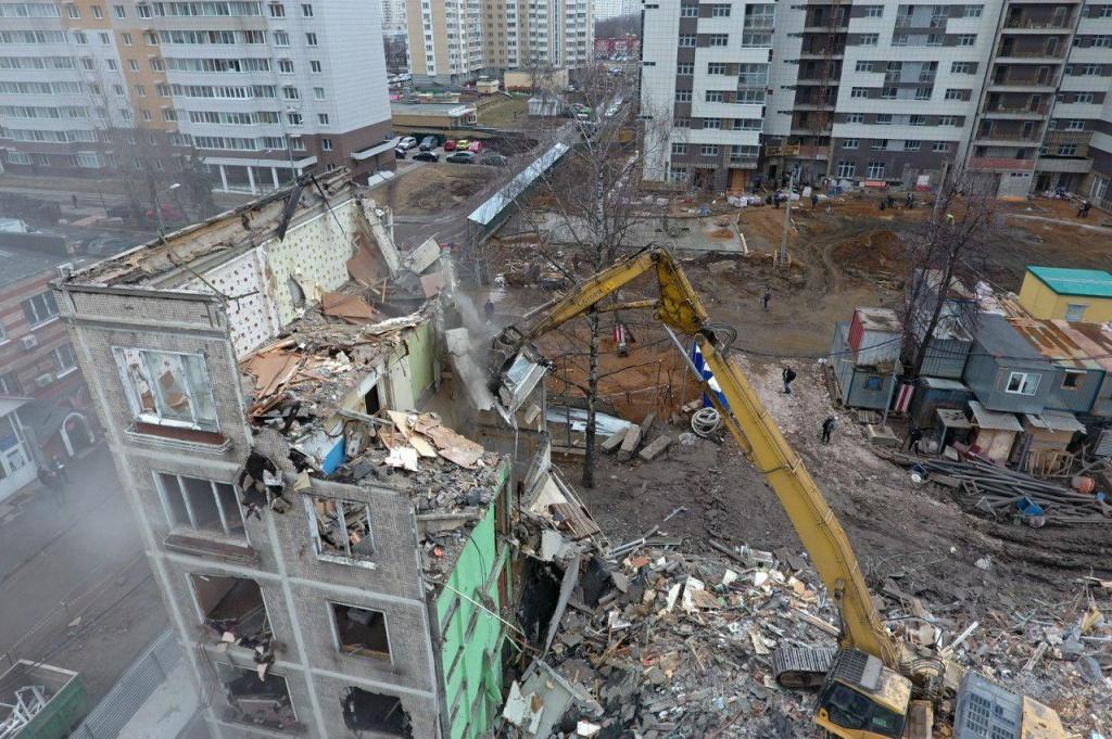 Неменее 500 кварталов могут попасть впрограмму реновации жилья в российской столице