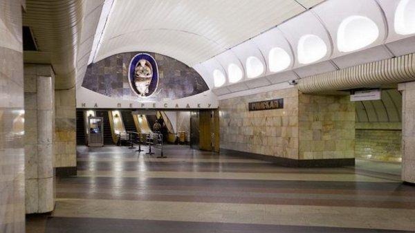 Неизвестные вмосковском метро избили гражданина Франции