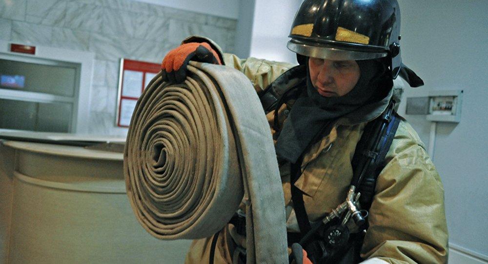 В столице из больницы из-за пожара эвакуировали практически 250 человек