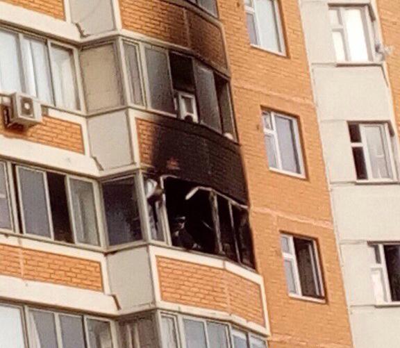Четырех человек спасли изпожара наИгральной улице столицы