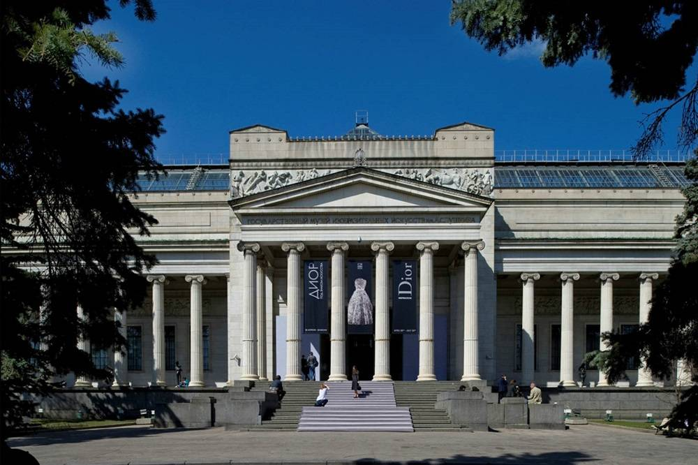 Вход вГМИИ имени Пушкина стал бесплатным надве недели