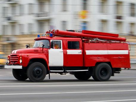 В столицеРФ загорелось строение Пенсионного фонда