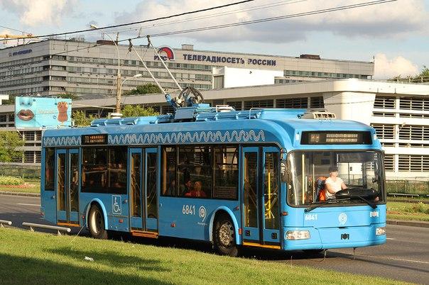 Троллейбус савтономным ходом пустят поТверской улице в столице осенью
