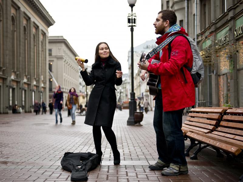 Уличные музыканты смогут выступать в столице России на14 открытых площадках