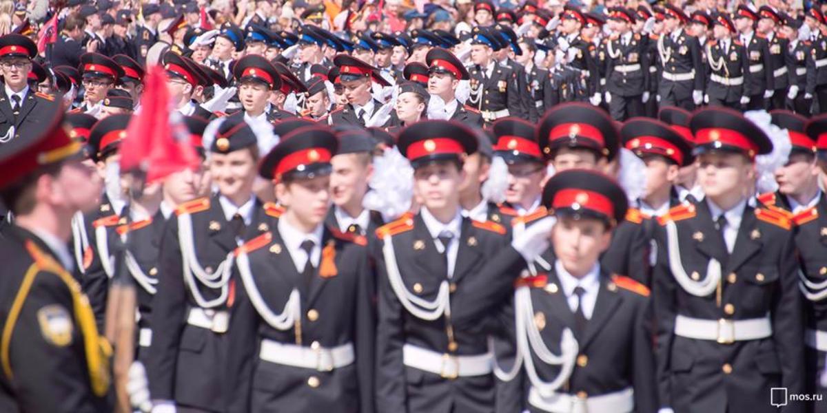 В столицеРФ прошла генеральная репетиция марша вчесть парада 1941 года