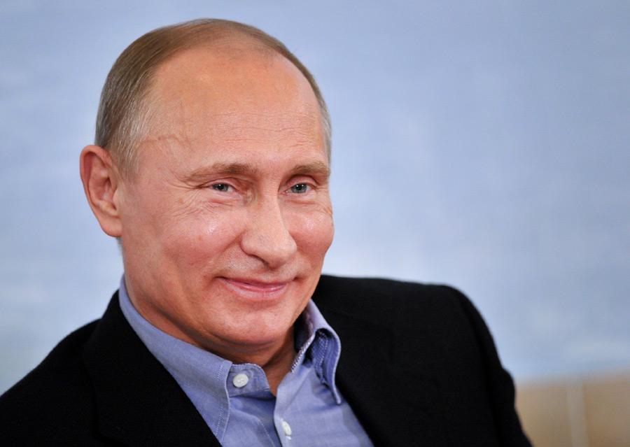 Уменя имеется внуки, однако нехватает для них времени— Путин