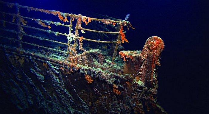 Туристы отправятся надно кзатонувшему «Титанику»