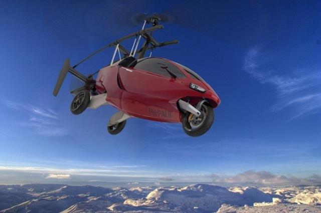 Голландцы начали продажи летающих авто Liberty Pioneer иLiberty Sport