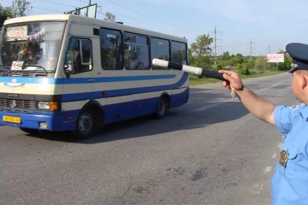 Неменее 250 незаконных автобусов задержано в столицеРФ